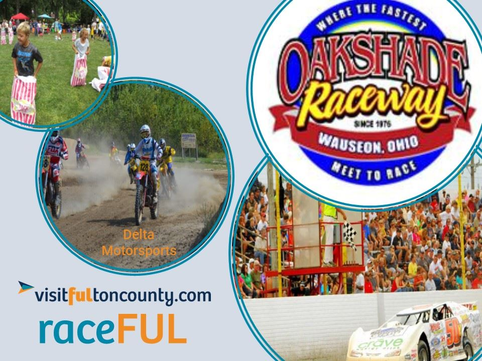 If you like races you will find action in Fulton County at Oakshade Raceway and Delta Motor Sports!