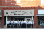 Group Standing Outside the American Legion